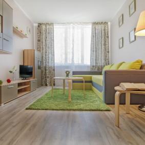studio 35 m² décor