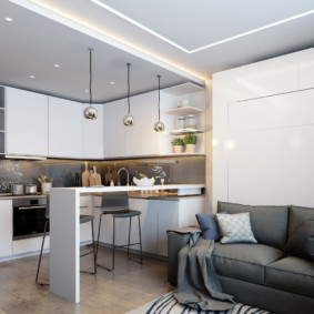 Studio 35 m² design