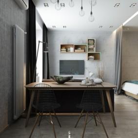 studio 35 m² photo vues