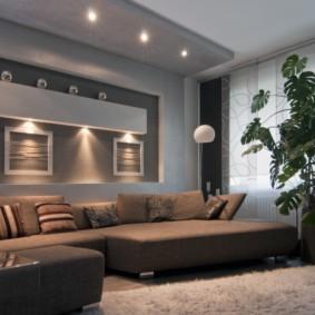 idées d'éclairage chambre appartement