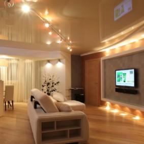 éclairage des pièces dans l'appartement idées photos