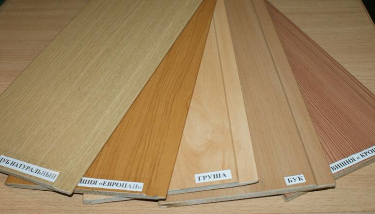 Types de panneaux MDF à base de bois