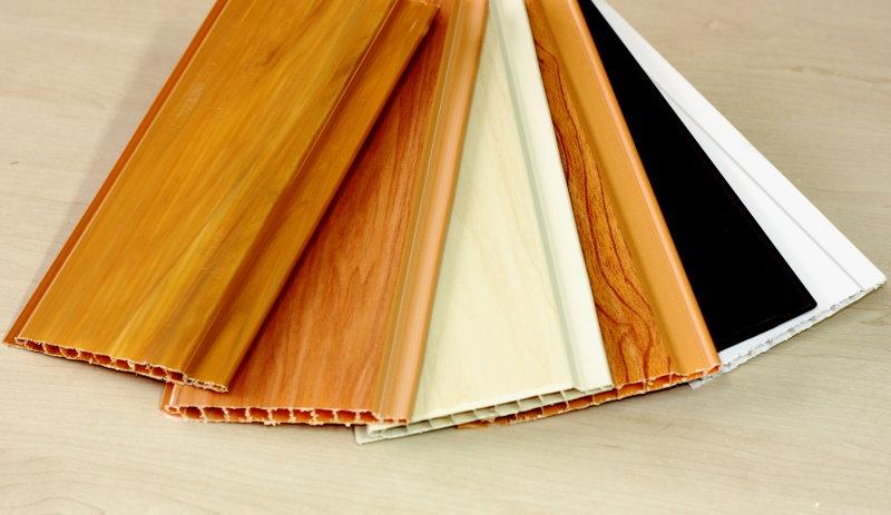 Doublure en PVC de différentes couleurs