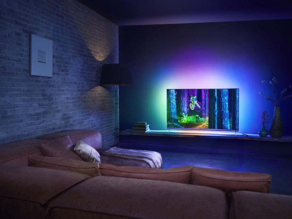 Đèn trang trí trong phòng khách