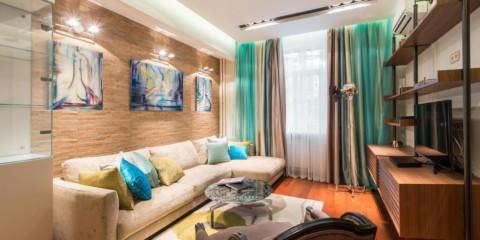 plafond de salon moderne