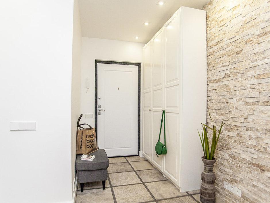 Porte d'entrée de style loft
