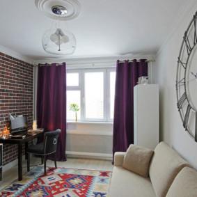 rideaux dans le salon idées de décoration