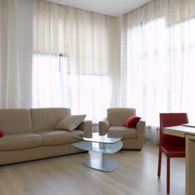 rideaux dans le salon