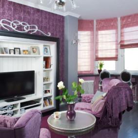 rideaux dans les idées de salon