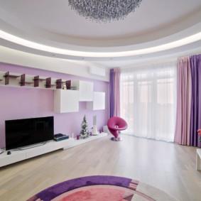 rideaux dans le salon idées intérieur