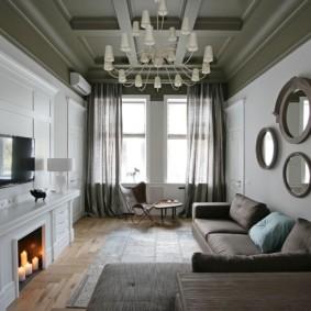 rideaux dans le salon idées intérieures