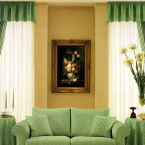 rideaux dans le hall sur deux fenêtres idées vues