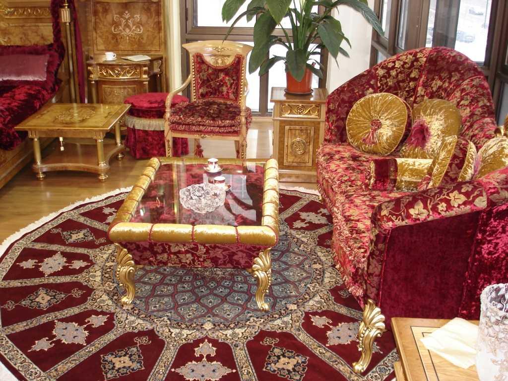intérieur moderne de style oriental