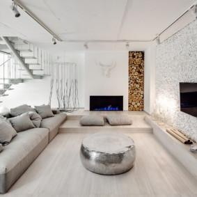 màu sắc tươi sáng ý tưởng phòng khách