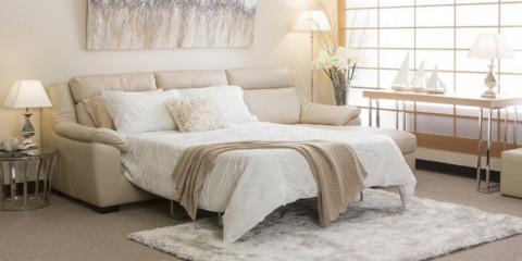 chambre avec canapé design photo