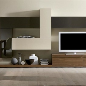 mur pour TV dans le salon
