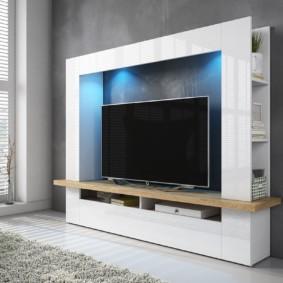 Mur TV dans le salon idées idées