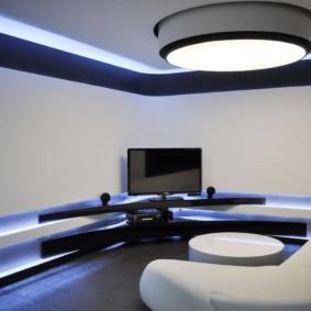 salon moderne appartement décor photo
