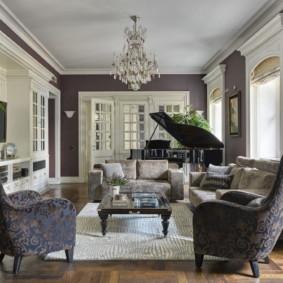 idées de décoration d'appartement salon moderne