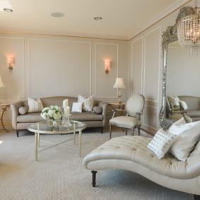 salon moderne dans les idées de décoration de l'appartement