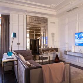salon moderne appartement idées intérieur