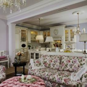 salon moderne dans l'appartement photo options