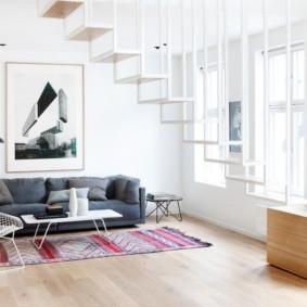 salon moderne appartement idées photo