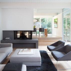 salon moderne en appartement photo idées