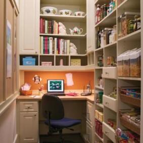 subtilités de l'organisation d'un garde-manger de bureau