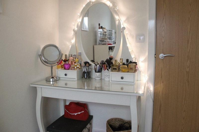 Éclairage décoratif de coiffeuse