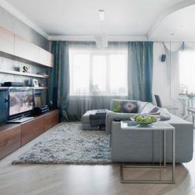 canapé d'angle dans le salon options de photo