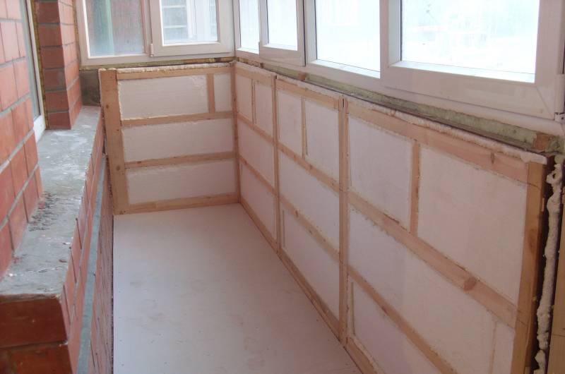 Isolation de balcon en polystyrène épaisseur 50 mm
