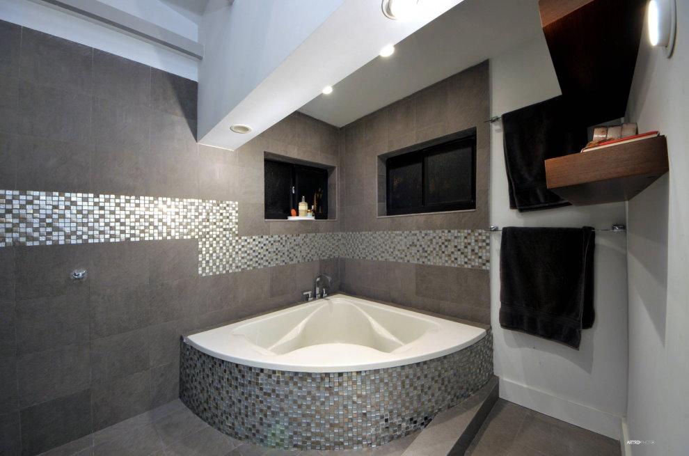 Baignoire Art Nouveau en fonte