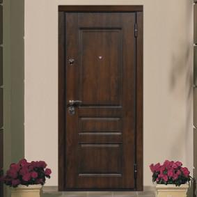 portes d'entrée de l'appartement
