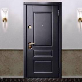 porte d'entrée de l'appartement idées photo