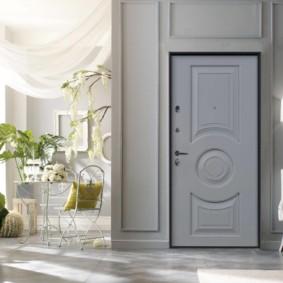 porte d'entrée de l'appartement photo design