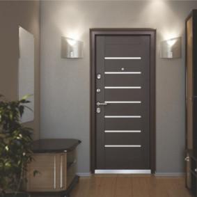 porte d'entrée aux idées de design d'appartement
