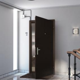 portes d'entrée au décor de l'appartement
