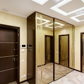 porte d'entrée du décor photo de l'appartement