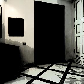 porte d'entrée aux idées de décoration de l'appartement
