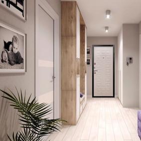 portes d'entrée aux idées de décoration de l'appartement