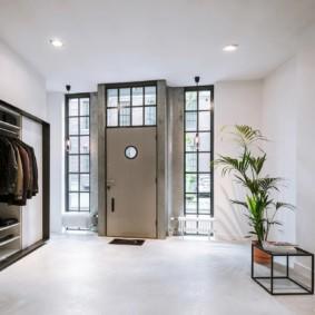 porte d'entrée de la photo intérieure de l'appartement