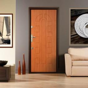 portes d'entrée de l'appartement photo options