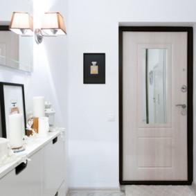 porte d'entrée de l'appartement photo options