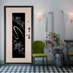 portes d'entrée aux options d'idées d'appartement