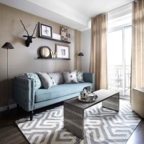 Chambre confortable avec accès au balcon