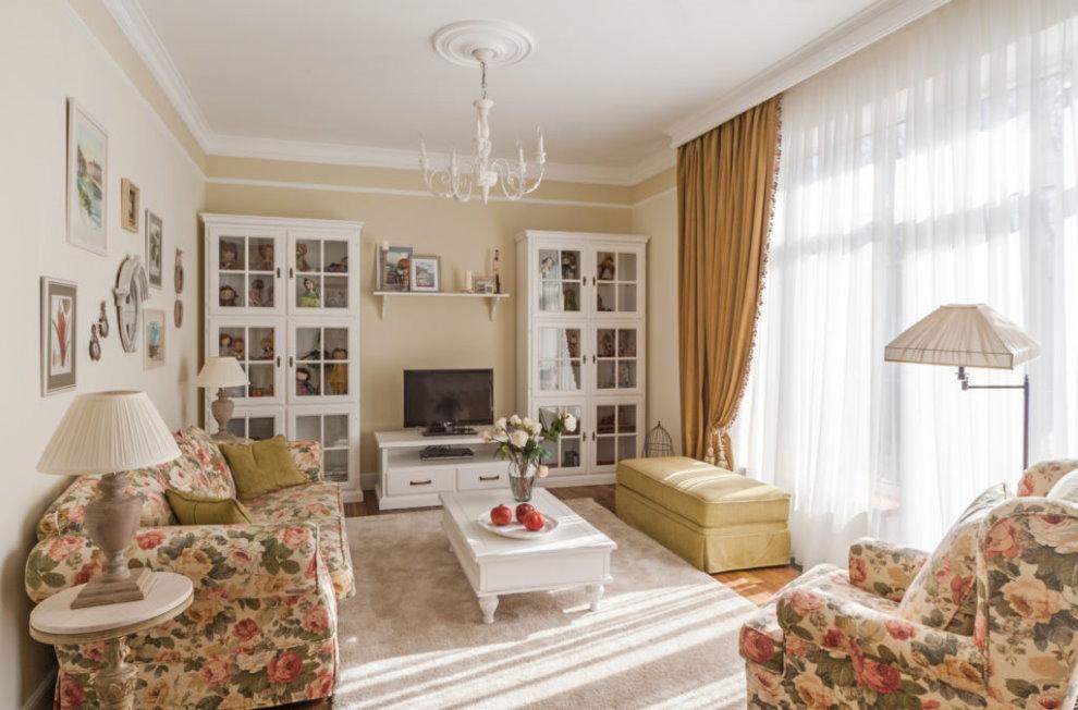 Chambre confortable dans un appartement de style champêtre