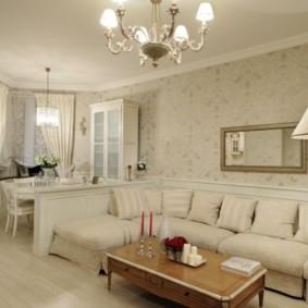 gương trong phòng khách ý tưởng nội thất đánh giá