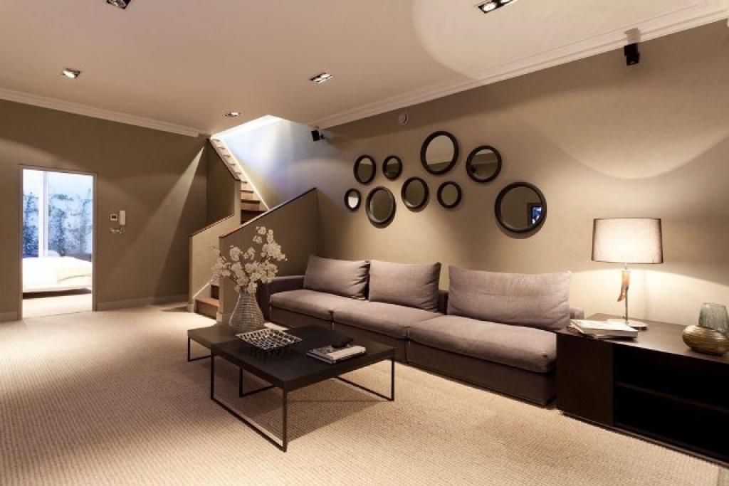 cấu tạo của gương trong phòng khách