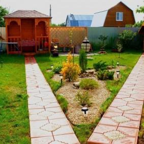 Allées de jardin en pierre naturelle